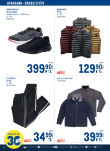 تخفيضات على أسعار الألبسة والأحذية